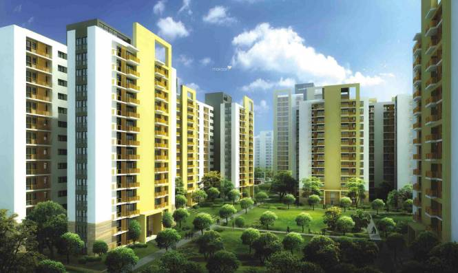 Unitech Uniworld Gardens 2 Elevation