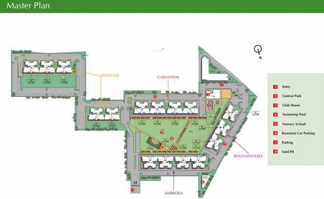 Unitech Uniworld Gardens 2 Master Plan