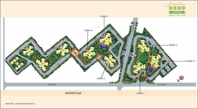 BPTP Freedom Park Life Site Plan