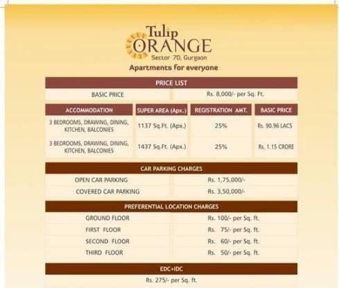 Tulip Orange Payment Plan