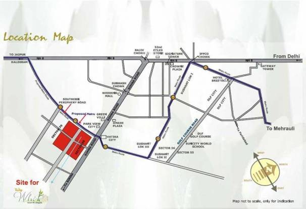Tulip White Location Plan