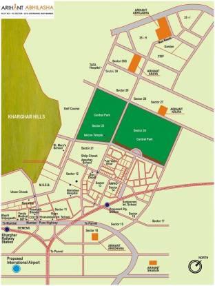 Arihant Abhilasha Location Plan