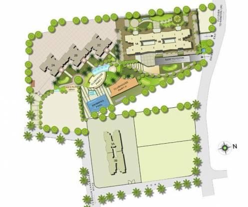 Kalpataru Gardens II Site Plan