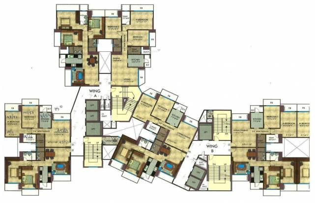 RNA Exotica Apartment Cluster Plan