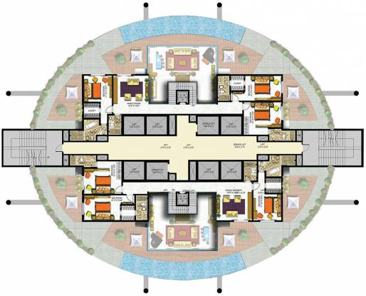 Indiabulls Sky Cluster Plan