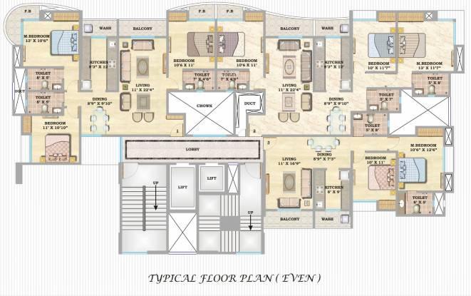 Hubtown Siddhi Cluster Plan