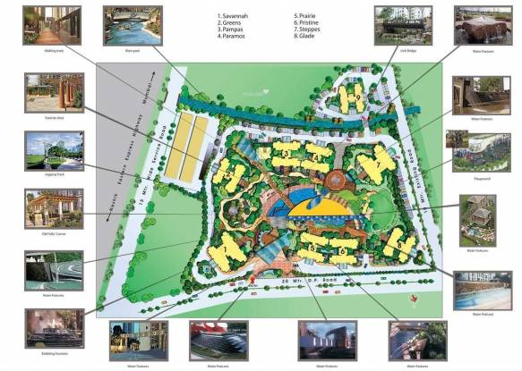 Sheth Vasant Lawns Site Plan