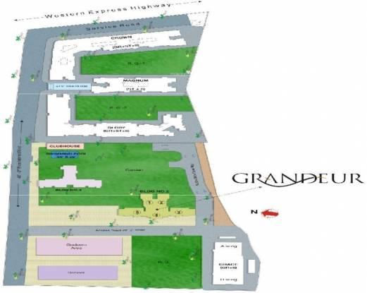 Sheth Grandeur Site Plan