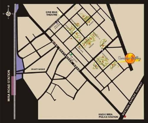 Ravi Gaurav Valley Location Plan