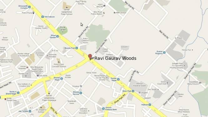 Ravi Gaurav Woods Location Plan
