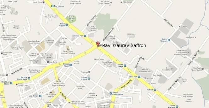 Ravi Gaurav Saffron Location Plan