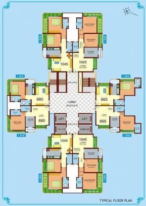 Ravi Gaurav Iconic Cluster Plan