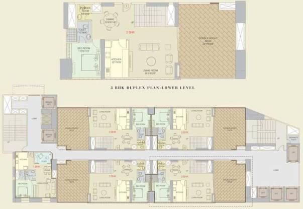 Orbit Terraces Cluster Plan