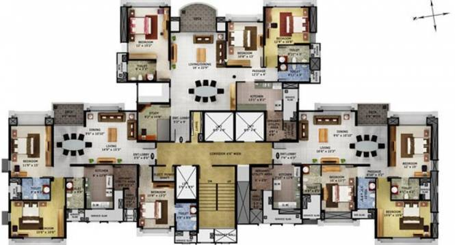 Mahindra Eminente Cluster Plan