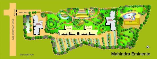 Mahindra Eminente Site Plan