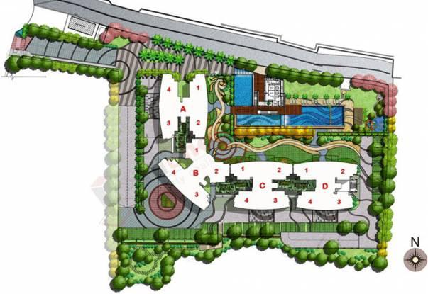 Kalpataru Towers Site Plan
