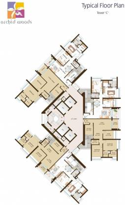 DB Orchid Woods Cluster Plan