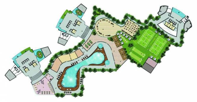 DB Orchid Crown Site Plan