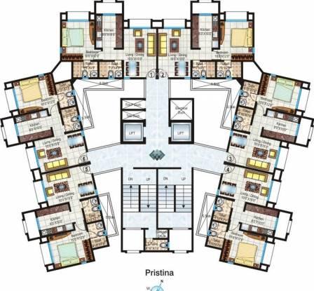 Hiranandani Heritage Cluster Plan