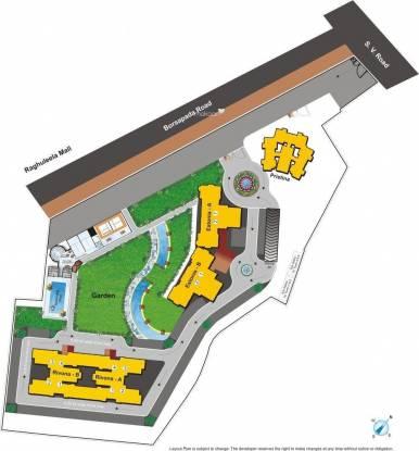Hiranandani Heritage Site Plan