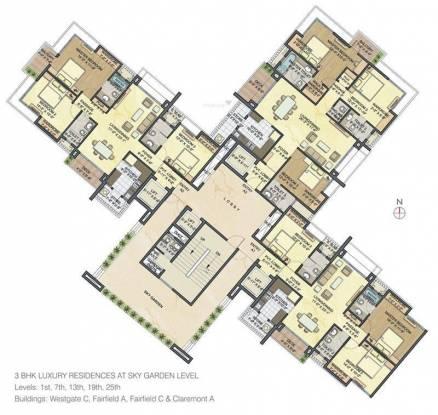 Lodha Luxuria Cluster Plan