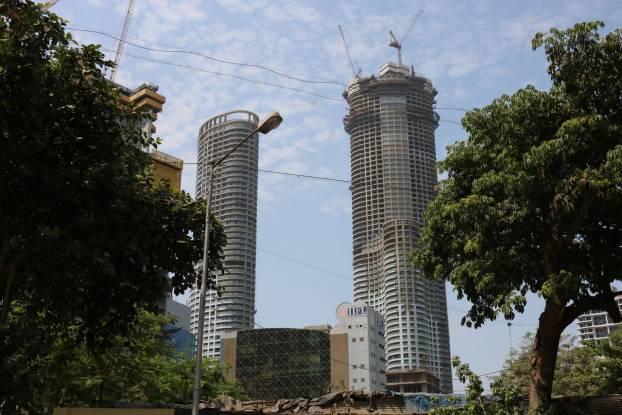 Lodha World One Construction Status
