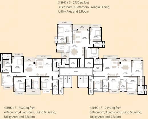 Shipra Srishti Cluster Plan
