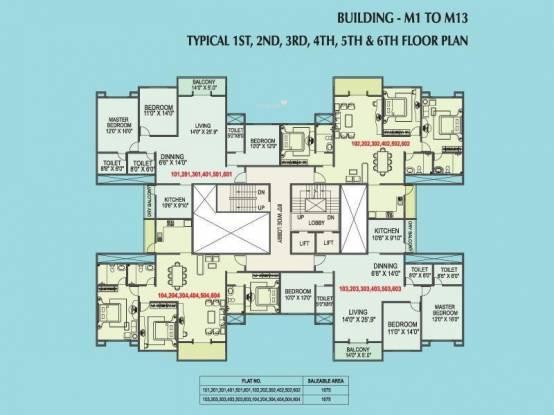 Kolte Patil Elburz Hills Dales Cluster Plan