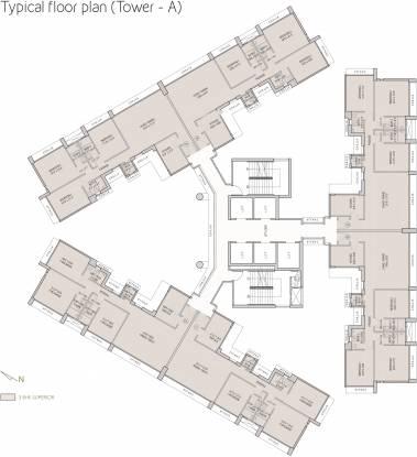Oberoi Esquire Cluster Plan