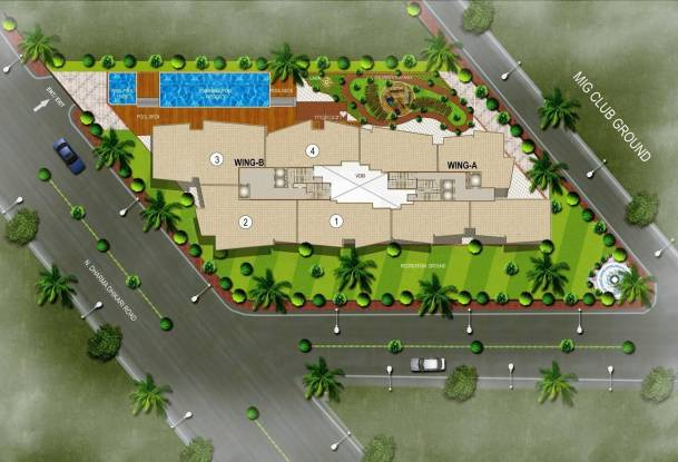 Rustomjee Oriana Site Plan