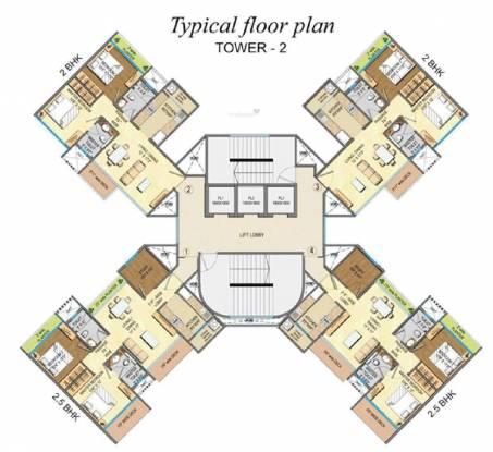 Runwal Anthurium Cluster Plan