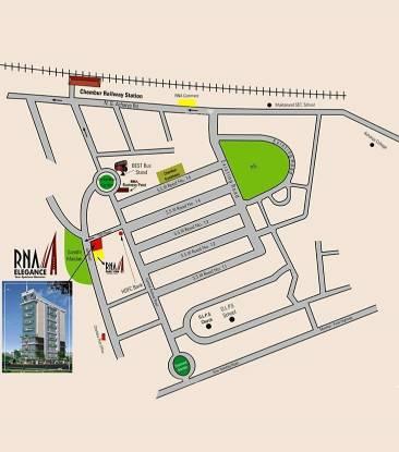 RNA Elegance Location Plan