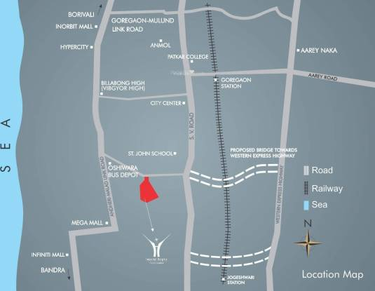 Radius Epitome at Imperial Heights Location Plan