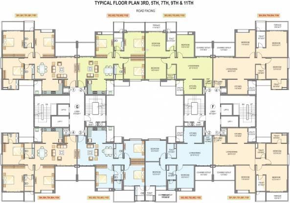 Pride Purple Park Titanium Cluster Plan