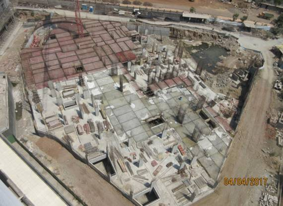 Pride Purple Park Titanium Construction Status