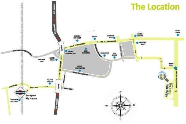 Mantri Serene Location Plan