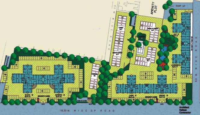 Mantri Park Site Plan