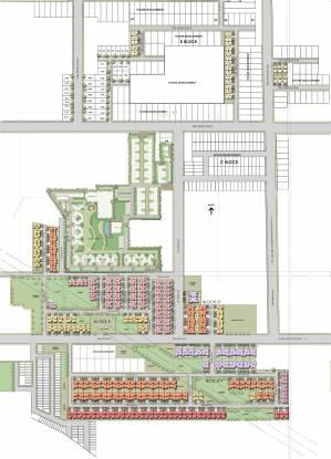 Unitech Anthea Floors Site Plan