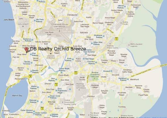 DB Orchid Breeze Location Plan