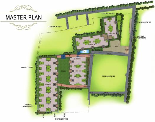 Sobha Dew Flower Master Plan
