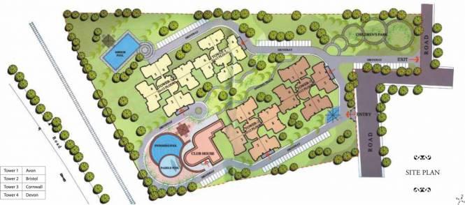 Prestige Kensington Gardens Site Plan