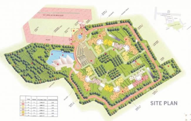 Prestige South Ridge Site Plan