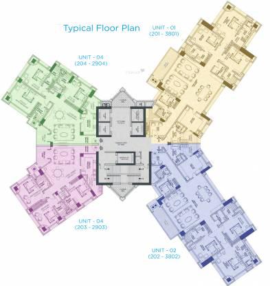 Mantri Pinnacle Cluster Plan