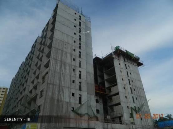 Mantri Serenity Construction Status
