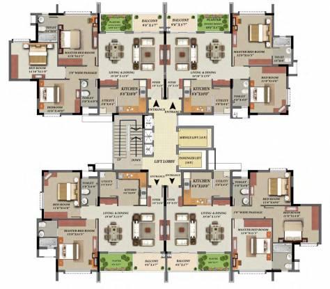 Mantri Glades Cluster Plan