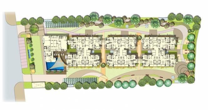 Mantri Glades Site Plan