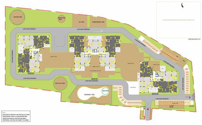Sobha Petunia Layout Plan