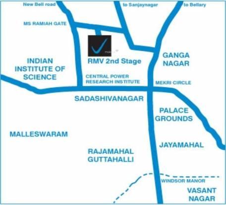 Vaishnavi Splendour Location Plan
