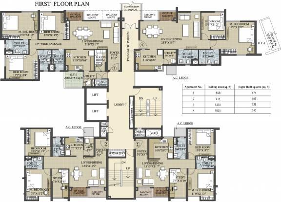 Elita Garden Vista Phase 2 Cluster Plan