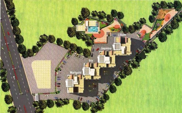 Sudarshan Sky Garden Site Plan